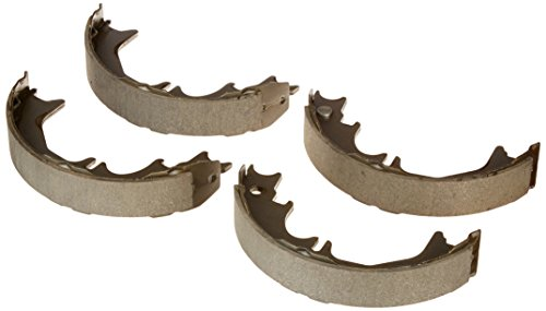 (Raybestos 850PG Professional Grade Parking Brake Shoe Set - Drum in Hat)