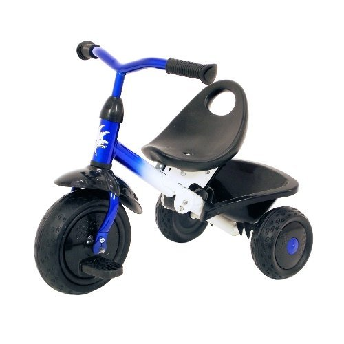 Kettler Steel Tricycle (Kiddi-o by Kettler Fold 'n Ride Trike with Adjustable Seat: Falcon, Youth Ages 1.5+)