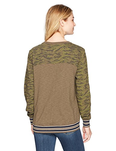 Champion Women's French Terry Sweatshirt (Edition), Green Camo, XXL by Champion (Image #2)