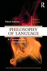 Image of the product Philosophy of Language that is listed on the catalogue brand of Routledge.