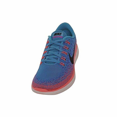 Nike Mujeres Wmns Free Rn Distance, Blue Lagoon / Black-persion Violet-hot Lava Blue Lagoon / Black-persion Violet-hot Lava