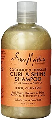 Coconut Hibiscus Curling Shampoo by Shea Moisture