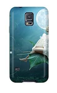 Cute High Quality Galaxy S5 Moon Light Fairy Case