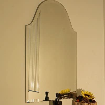 Regency Bristol Frameless Mirror Size 32 H x 20 W