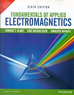 fundamentals of applied electromagnetics 6th by fawwaz t ulaby rh amazon com fundamentals of applied electromagnetics 7th solution manual fundamentals of applied electromagnetics solution manual pdf