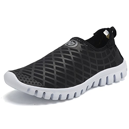 CIOR Quick-Dry Water Sports Shoes Men and Women's Multifunctional for Swim Walking Yoga Lake Beach Garden Park Driving Boating,SJC02,L.Black,45 1