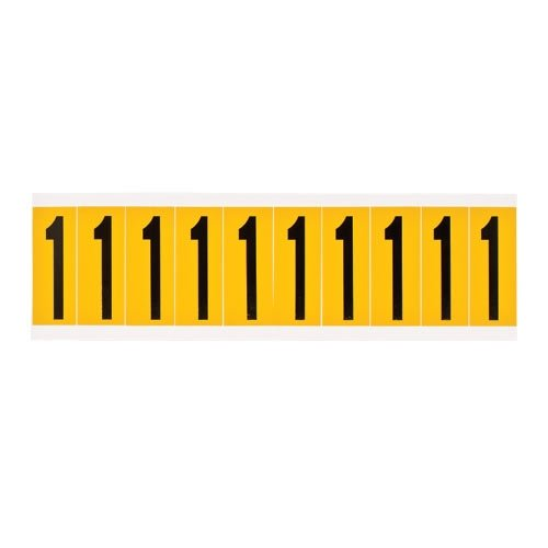 Brady 1534-1, 15341 15 Series Indoor/Outdoor Number & Letter, (Pack of 50 Cards)