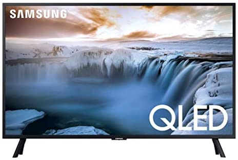 """Samsung QN32Q50RA 32"""" Class QLED 4K Smart Ultra High Definition TV with an Additional 1 Year Coverage by means of Epic Protect (2019)"""