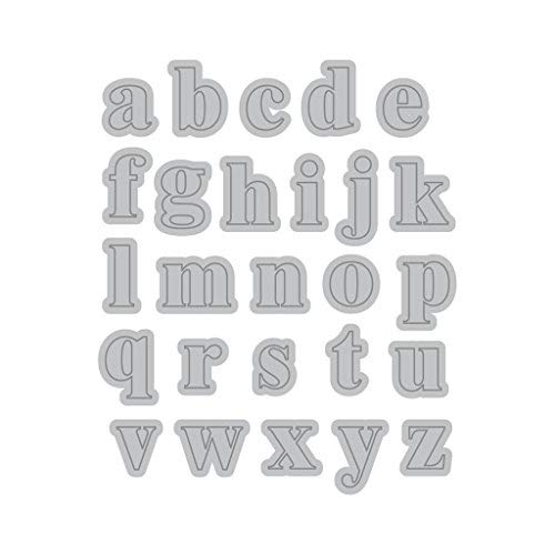 Recollections Cutting Template - Lower Case Mini Alphabet