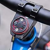 CYSKY Garmin Edge Mount, Bike Stem Top Cap Holder for Garmin Bryton Cycling GPS Computer, Fit Garmin 1000,820,810,800, 520,510,500,200 and Bryton 530 330 310 100 (Red)