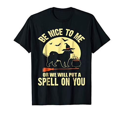 Alaskan Malamute Spell on You Halloween Costume T-Shirt