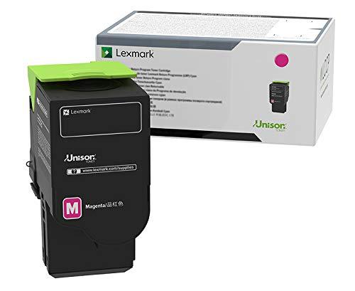Lexmark C231HM0 Magenta High Yield Return Program Cartridge Toner, Grey