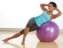 Gaiam Total Body Balance Ball Kit, Green, 65cm