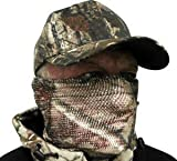 Great Day Short Cut Facemask, Realtree