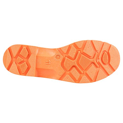 Servus Prm 15 Pvc Mens Arbeide Støvler Med Stål Tå Og Stål Mellomsåle, Svart-orange (75145c)