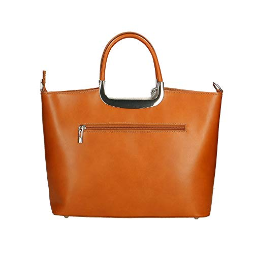 Italy À Cm 36x27x12 En Sac In Main Chicca Borse Véritable Cuir Made RaZwxzTq