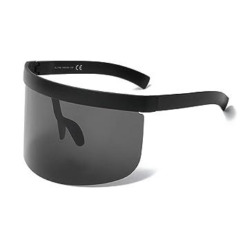 MINGMOU Gafas De Sol De Gran Tamaño, Negras, De Gran Tamaño ...