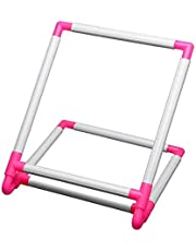 Amandaus Practical Universal Embroidery Clip Frame, Embroidery Frame Cross Stitch Hoop Stand,Hoop Stand Support Craft Tool for Embroidery, Quilting,Silk-Painting 30x25x20cm