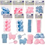 Girl Baby Shower Decorative accents, great for centerpieces, cake toppers and more! (PINK ONLY)