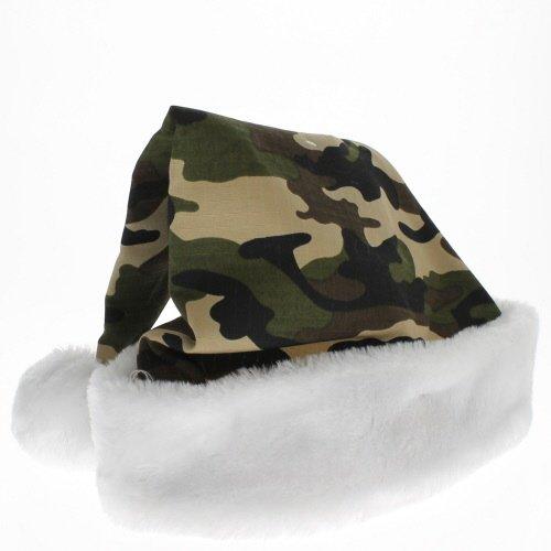 Camouflage Santa Hat