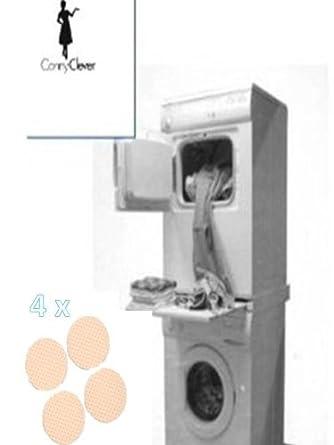 Kit construcción columna de lavadora-secadora con Cartel de ...