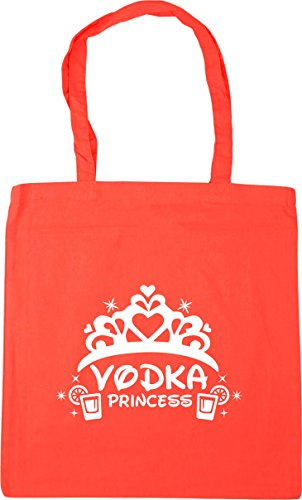 Bag Beach Tote HippoWarehouse 10 Vodka Shopping 42cm Coral Gym x38cm Princess litres wZ4qYqx6