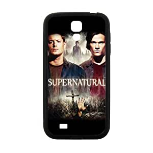 Hot TV Series Supernatural Poster Cover Case for Samsung Galaxy S4 (Laser Technology)