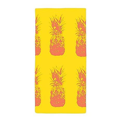 warrantyll personalizada una pintura piña de grosor suave microfibra toalla de playa 70 * 140 cm # 7: Amazon.es: Hogar