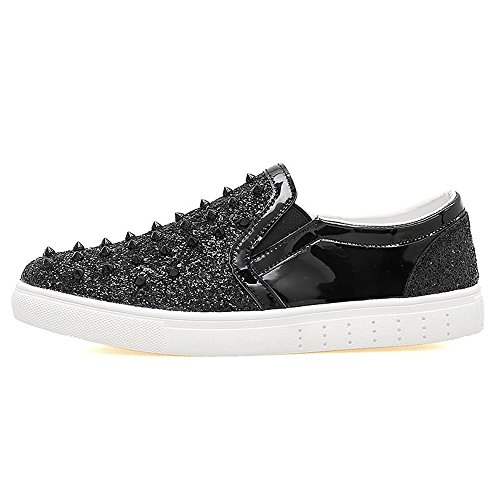 shoes Uomo Nero Shufang Shufang Mocassini Mocassini shoes qzPtgH