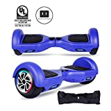 CBD 6.5' Hoverboard for Kids, Two Wheels Self-Balancing Electric Scooter with LED Lights,Smart Hover Board - UL2272 Certified (Classic Series - Blue)