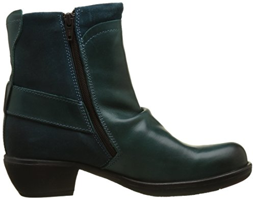 Fly London Womens Mel Leather Boots Green