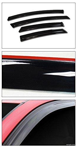 Topline Autopart Deflectors Window Visors