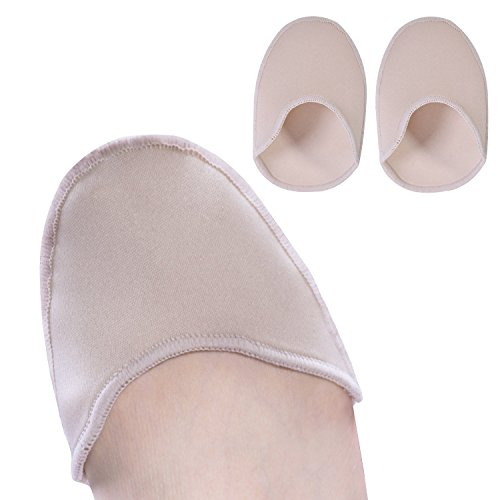 Povihome Toe Pouches Pads, Ouch Pouch to Protect Toe, Gel Toe Cover for Women's 6-10 for Heel, Ballet, Point Shoes - 1 Pairs by Povihome