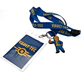 Official Licensed Fallout - Lanyard & Keyring Set