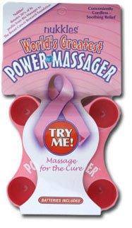 Nukkles World's Greatest Back Massager – Breast Cancer Awareness Model