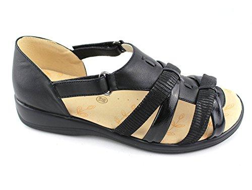 Padders - Sandalias de vestir para mujer negro