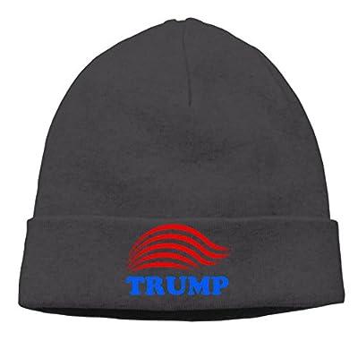 Unisex Donald Trump 85% Cotton Beanie Hats Black