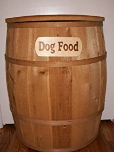 Large Dog Food Storage Container