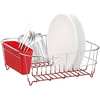 Amazon Com Rubbermaid 1180 Ma Red Antimicrobial Small