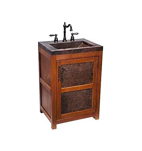 Rustic Wood Bathroom Vanity.Thompson Traders Vts Petit Rustic Vanity From The Legacy