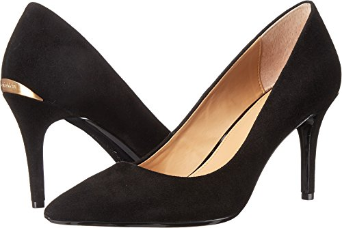 -  Calvin Klein Women's Gayle Pump, Black Suede - 8 B(M) US