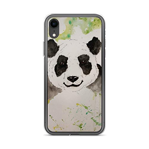 iPhone XR Case Anti-Scratch Creature Animal Transparent Cases Cover Bamboo Muncher Animals Fauna Crystal Clear