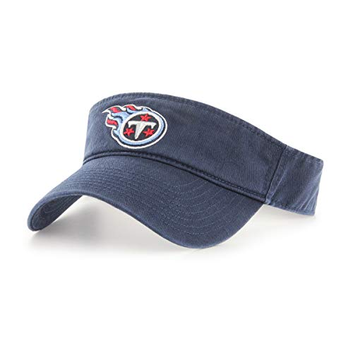 OTS NFL Tennessee Titans Male Visor, Navy, One Size