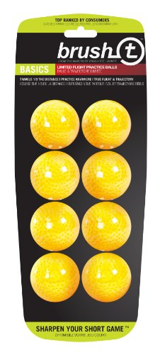 Brush T Basics Balls (8 pack yellow balls), Outdoor Stuffs