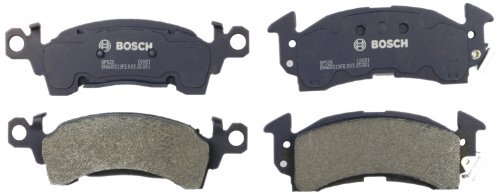 Bosch BP52S QuietCast Premium Semi-Metallic Disc Brake Pad Set For Select 1968-96 Buick; 1967-96 Cadillac, Checker, 1968-02 Chevrolet, 1970-02 GMC, 1974-91 Jeep, 1967-92 Oldsmobile, 1969-89 Pontiac; Front ()