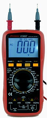 Lcr Meter Resistance : Sinometer vc range digital multimeter lcr meter