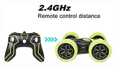 PROGLEAM 2.4Ghz 4WD RC Car Remote Control Off Road Electric Race Doub