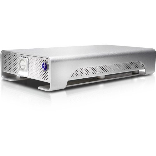 Hitachi G-Drive Thunderbolt 0G03050 4TB USB 3.0 External Hard Drive (Silver) by G-Technology