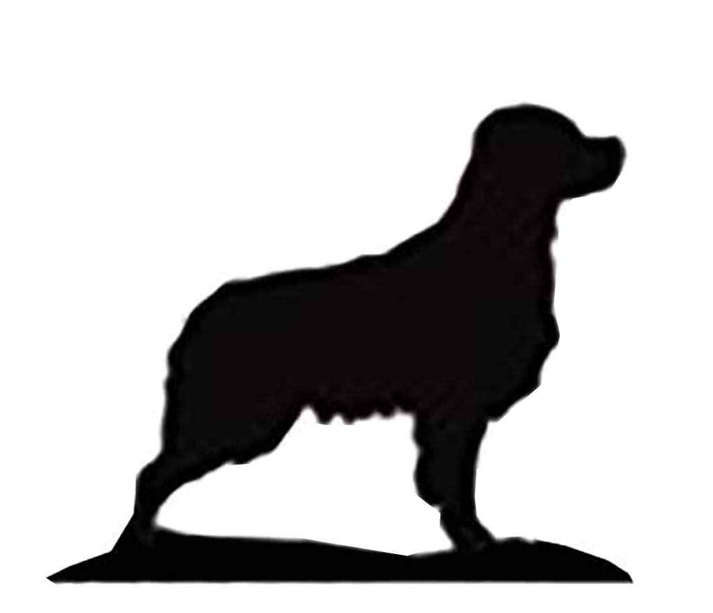 Car-Pets Ltd Brittany Spaniel Lovers Gift – KEY RACK - Ironwork silhouette Dog Shaped Key Rack – Unique quality hand made 3 Hook Key/Lead Rack Quality Home Products