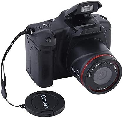 Cámara digital portátil HD con enfoque medio / largo, zoom óptico ...